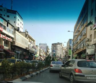 Downtown Ramallah (West Bank)