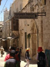 This way to the Western Wall